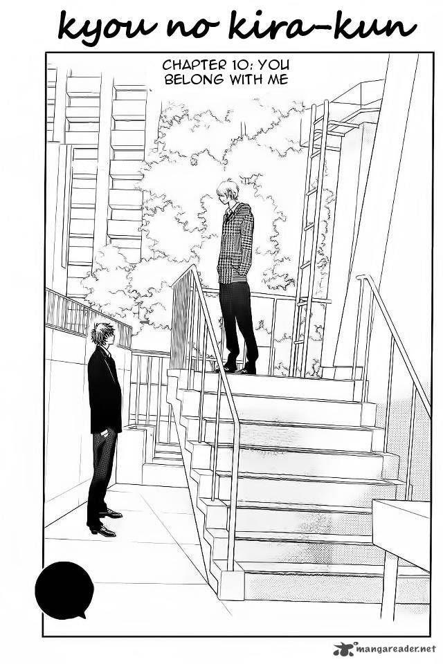 Kyou no Kira-kun 10 Page 2