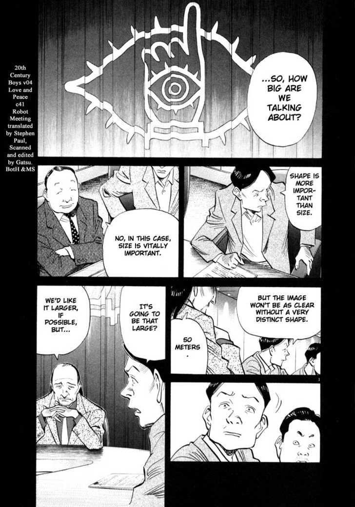 20th Century Boys 9 Page 1