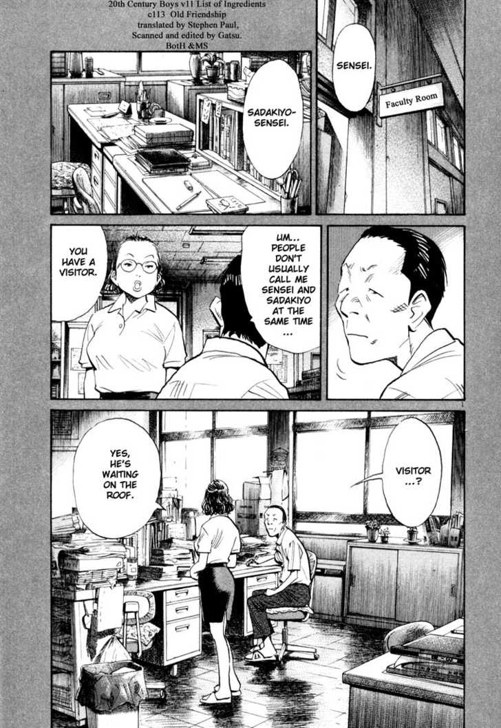 20th Century Boys 4 Page 1
