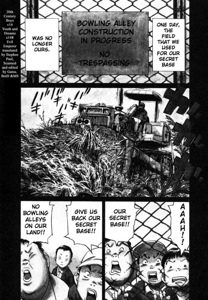 20th Century Boys 3 Page 1