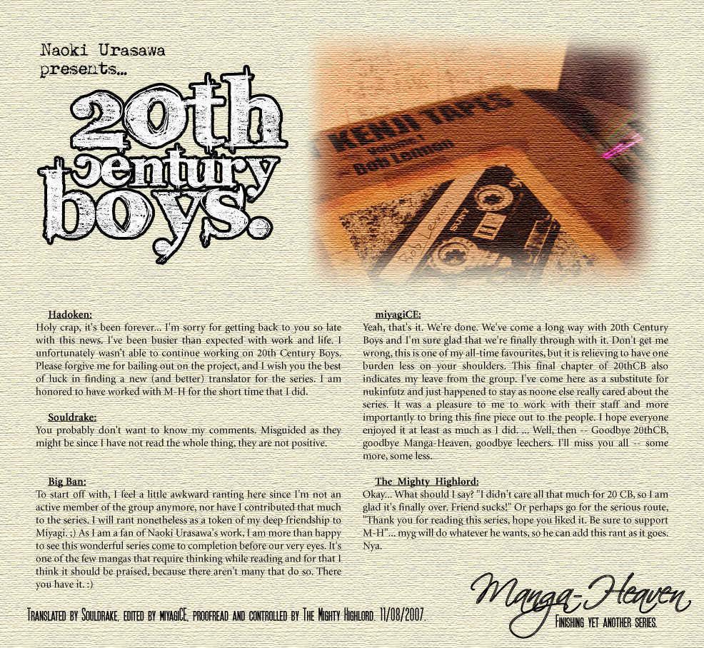 20th Century Boys 13 Page 1