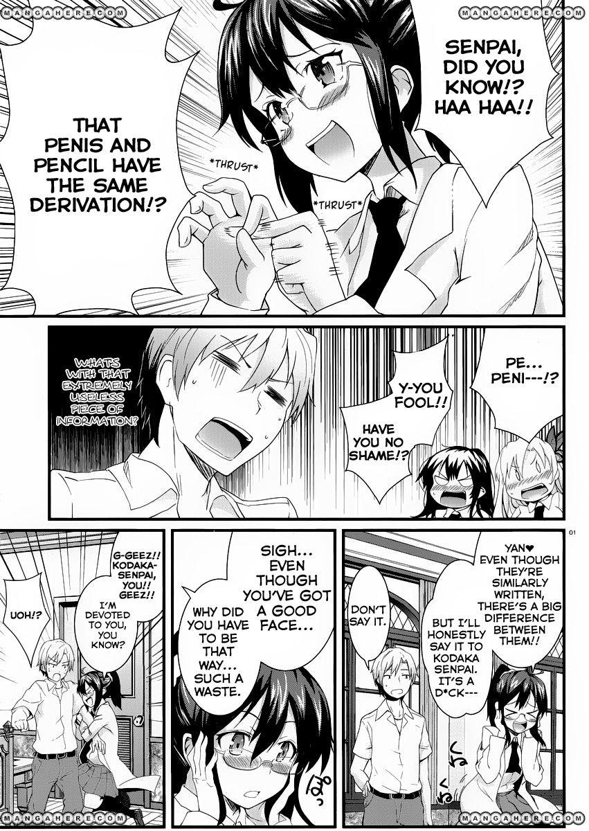 Boku wa Tomodachi ga Sukunai Shobon! 4 Page 3