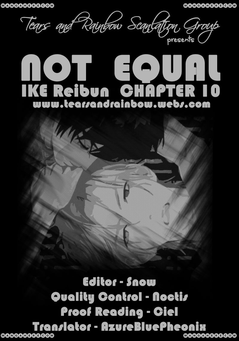 Not Equal 10 Page 1