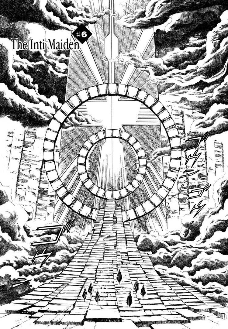 Jikuu Tenshou Nazca 6 Page 1