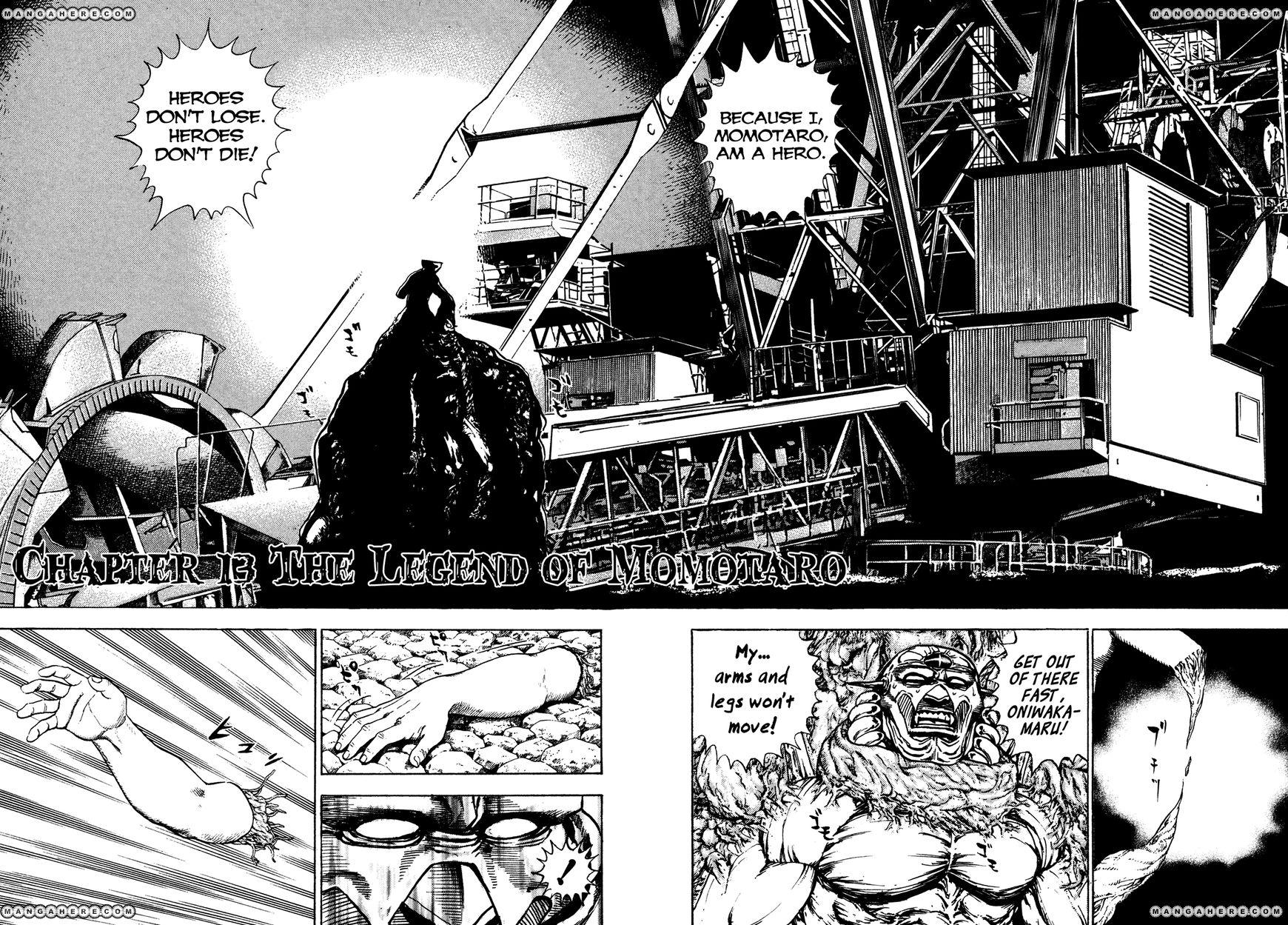 Igyoujin Oniwakamaru 13 Page 2