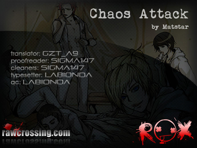 Chaos Attack 12 Page 1
