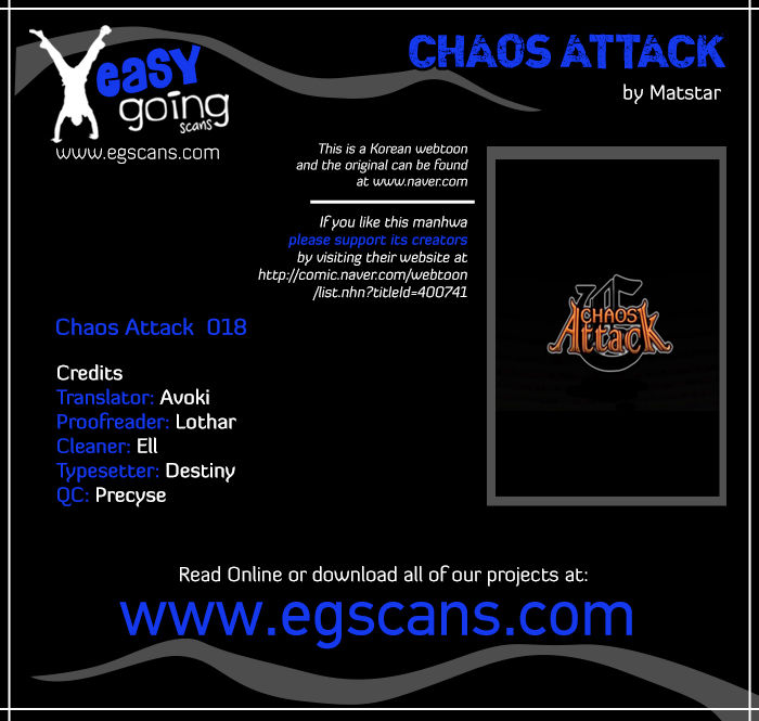 Chaos Attack 18 Page 1