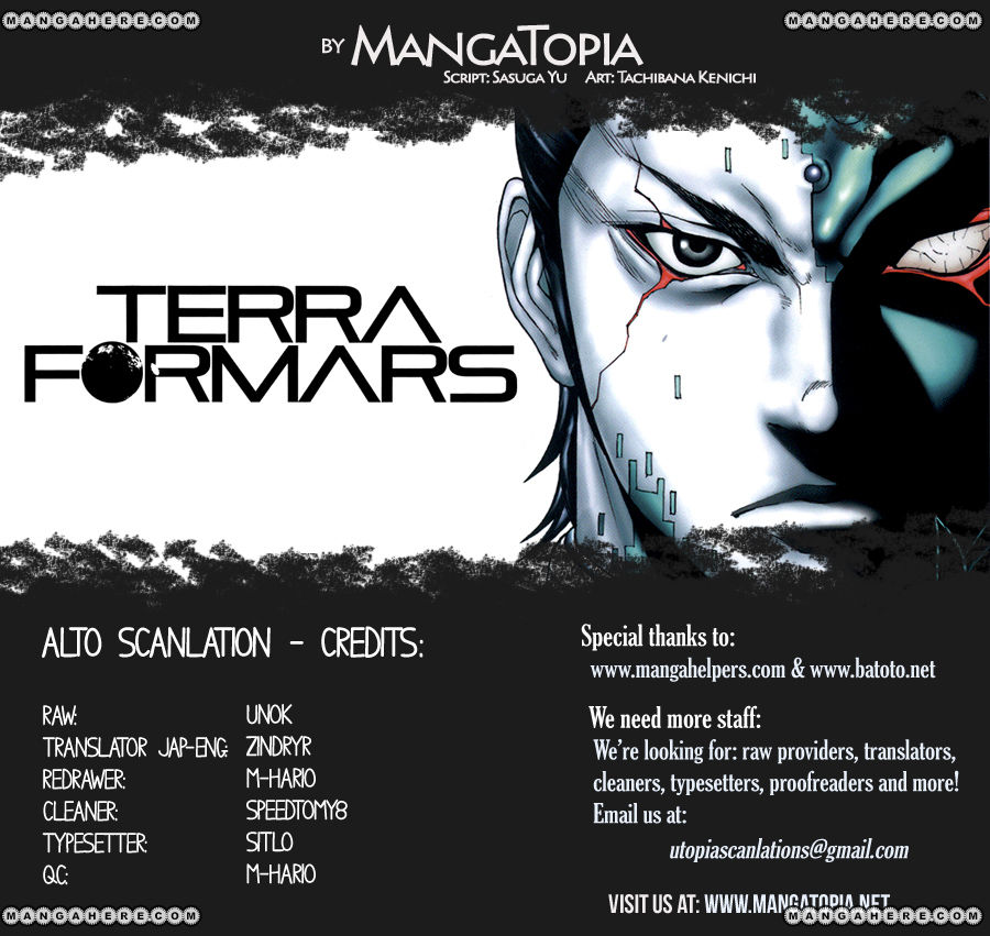 Terra Formars 3 Page 1