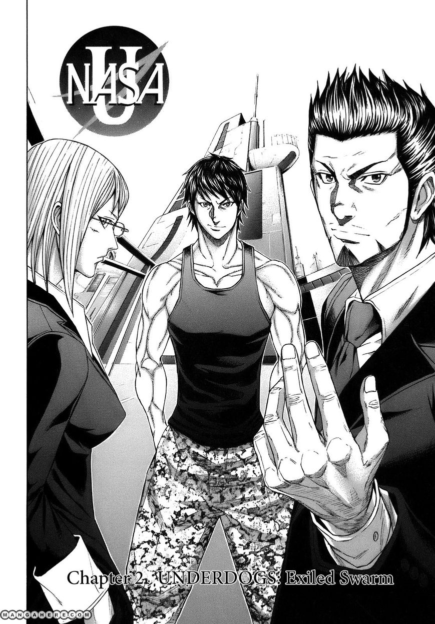 Terra Formars 8 Page 1