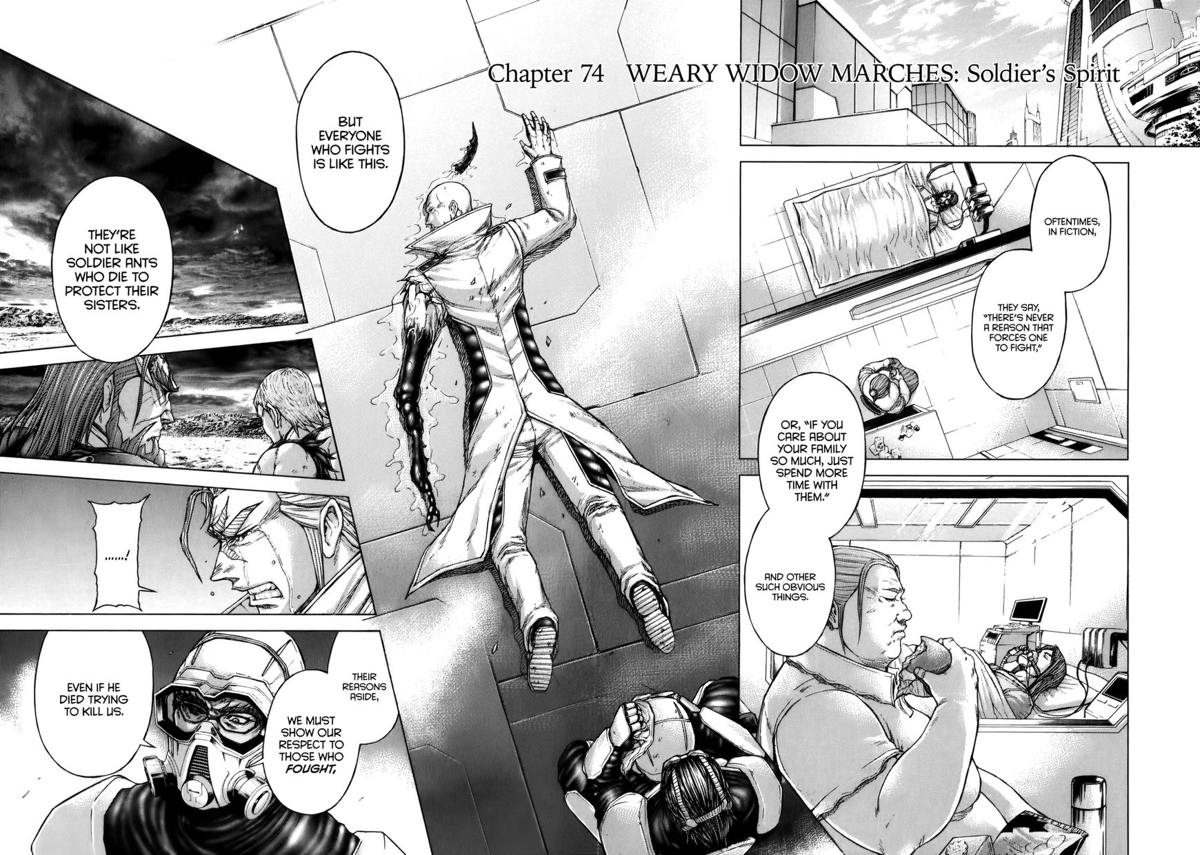 Terra Formars 74 Page 2