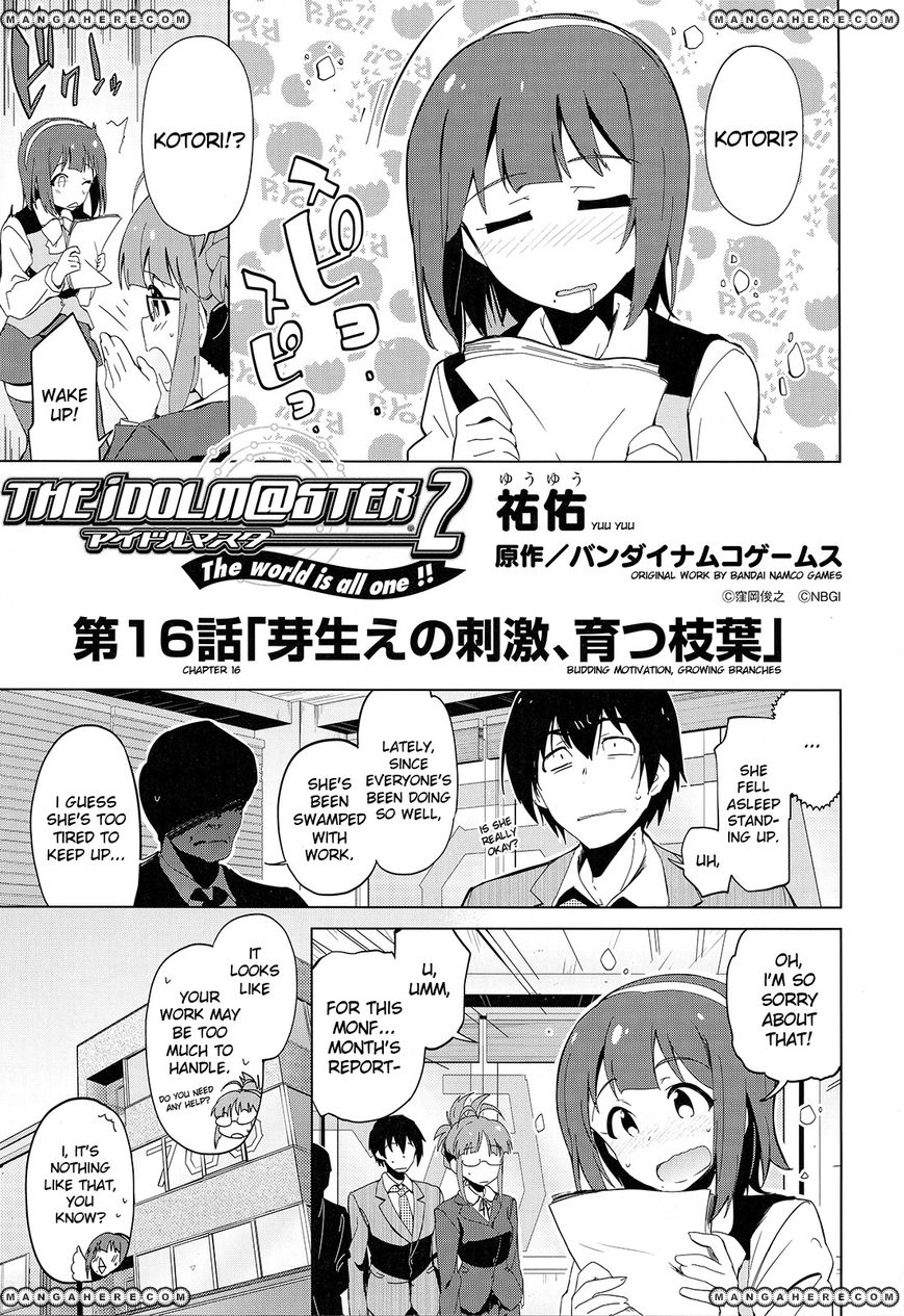 The Idolm@ster 2: The World Is All One!! 16 Page 1