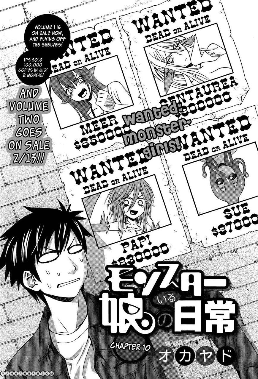 Monster Musume no Iru Nichijou 10 Page 1