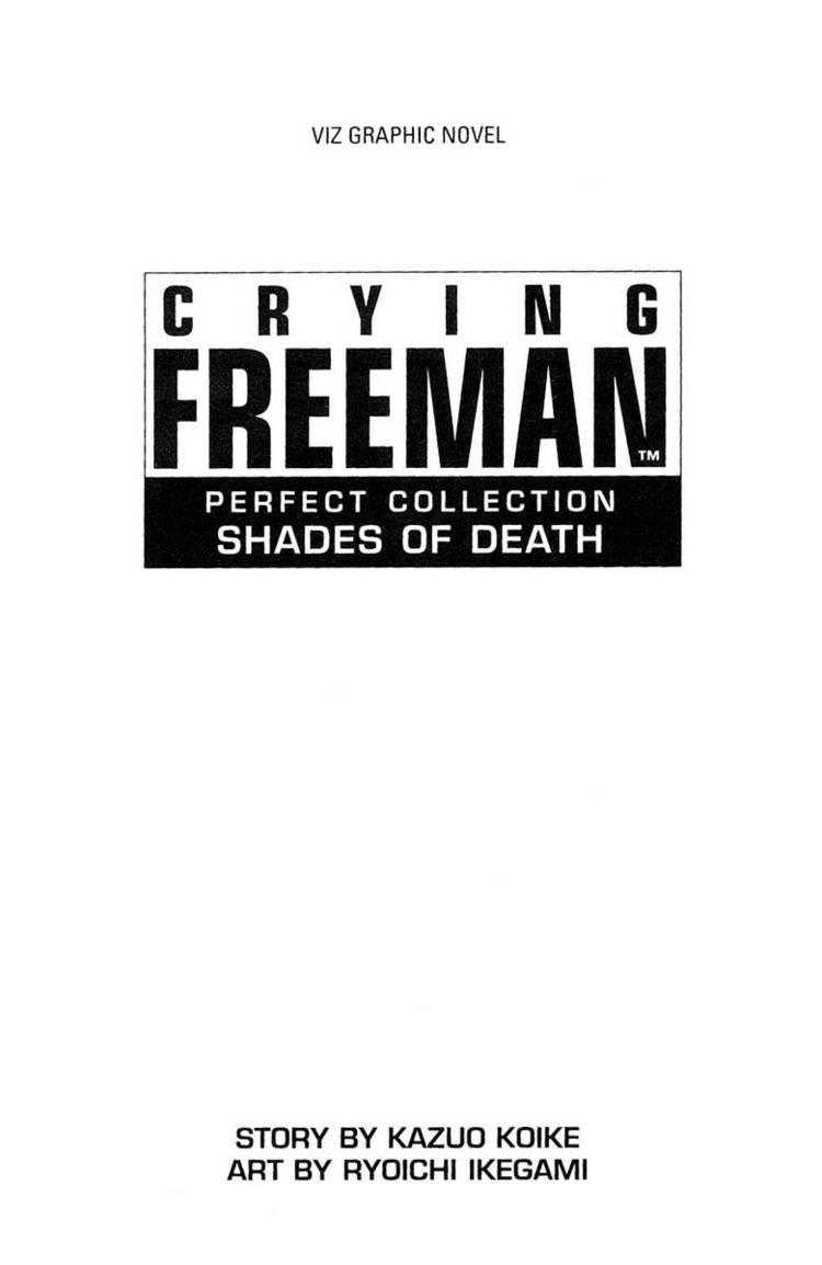 Crying Freeman 1 Page 2