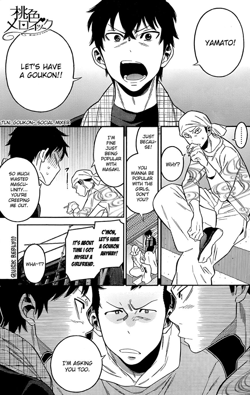 Momoiro Meloik 6 Page 1