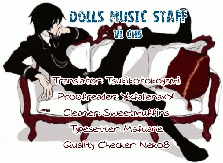 Dolls Music Staff 5 Page 1