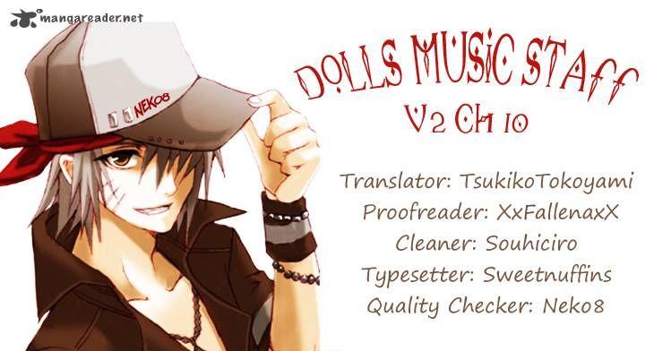Dolls Music Staff 10 Page 1