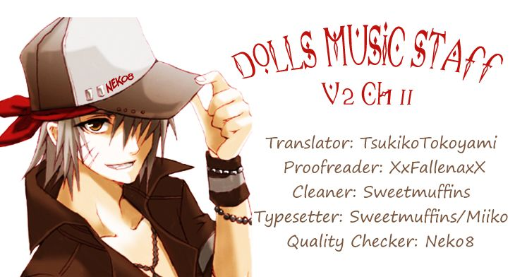 Dolls Music Staff 11 Page 1