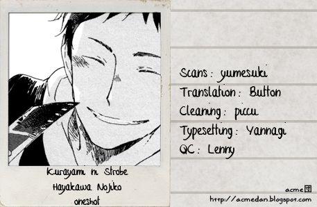 Kurayami ni Strobe 1 Page 1