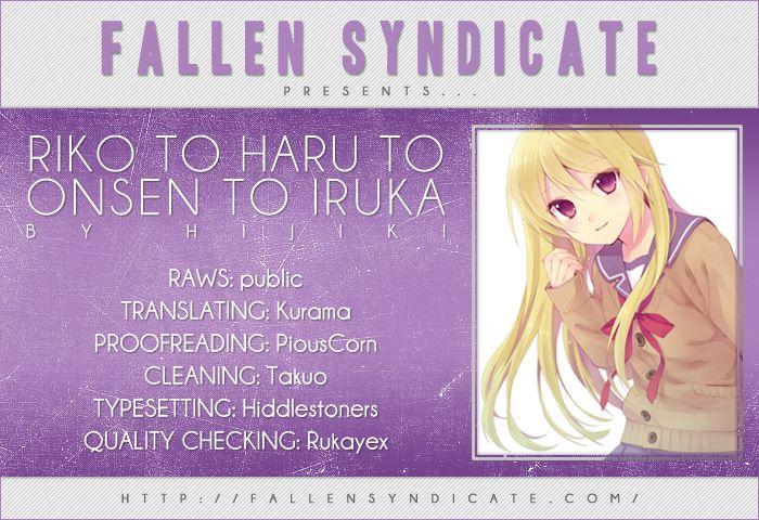 Riko to Haru to Onsen to Iruka 7 Page 1