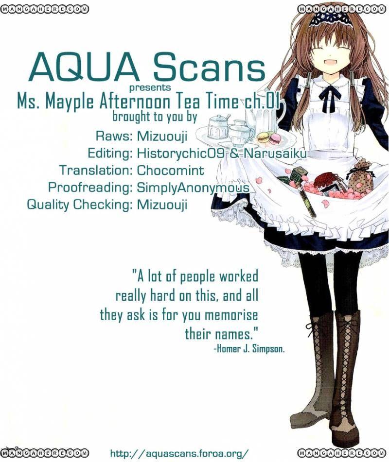 Mayple-san no Koucha Jikan 1 Page 1