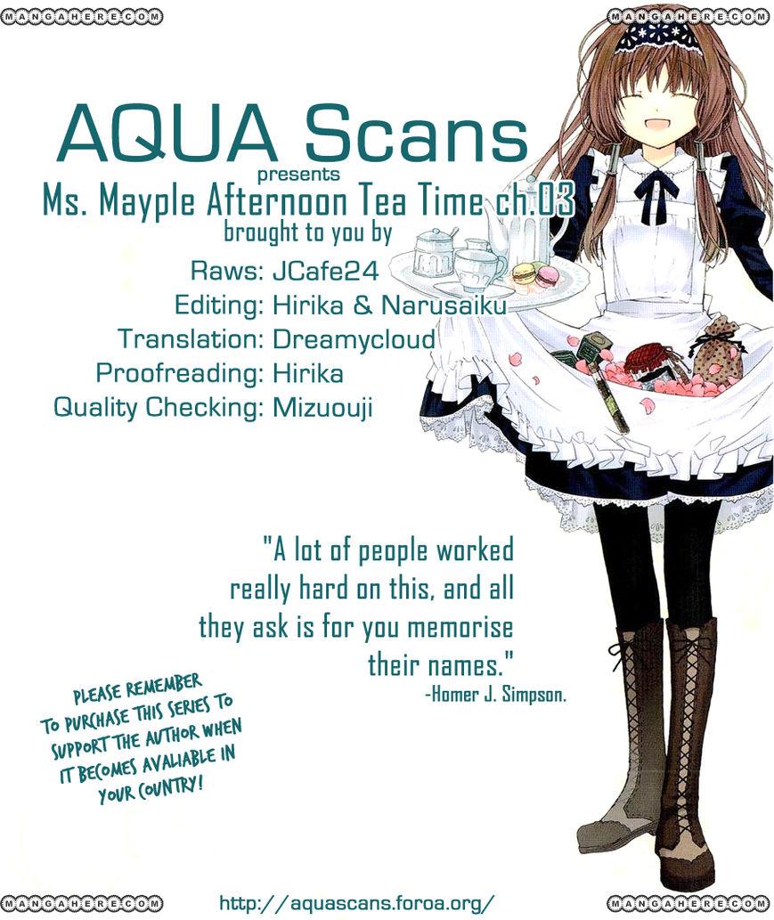 Mayple-san no Koucha Jikan 3 Page 1