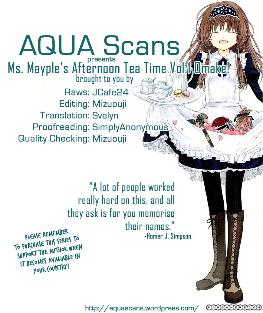 Mayple-san no Koucha Jikan 5.5 Page 1