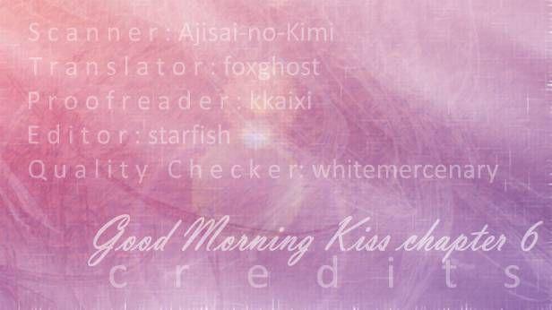 Good Morning Kiss 6 Page 1