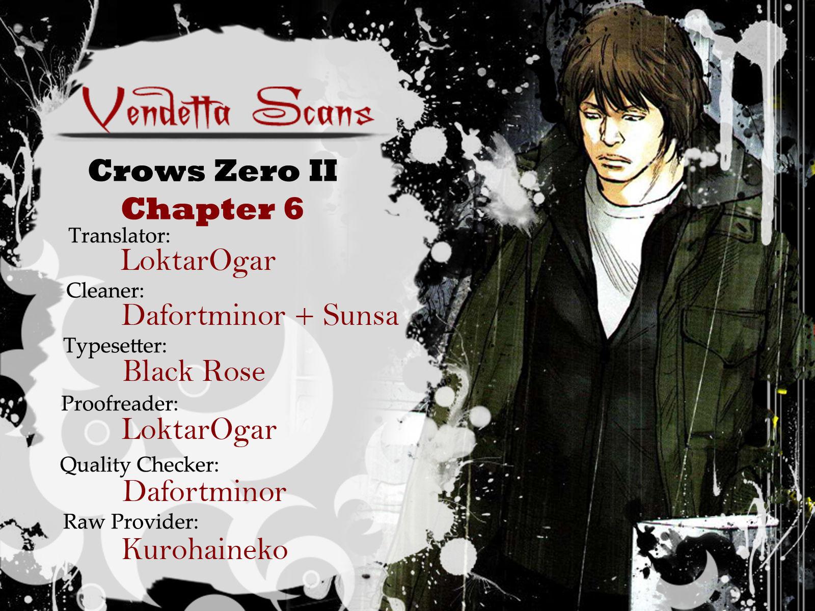 Crows Zero II: Suzuran x Houen 6 Page 1