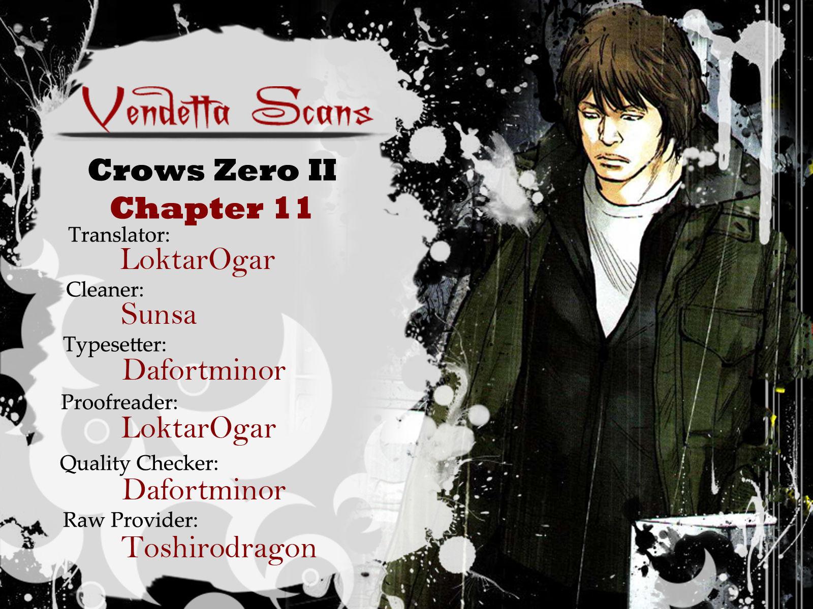 Crows Zero II: Suzuran x Houen 11 Page 1