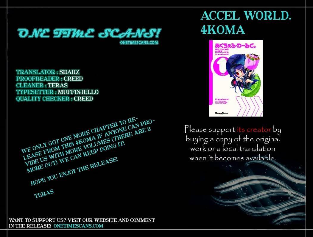 Accel World 4Koma 6 Page 1