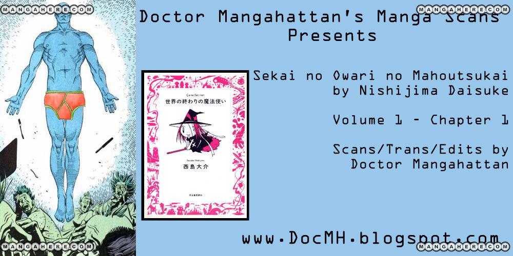 Sekai no Owari no Mahoutsukai 1 Page 2