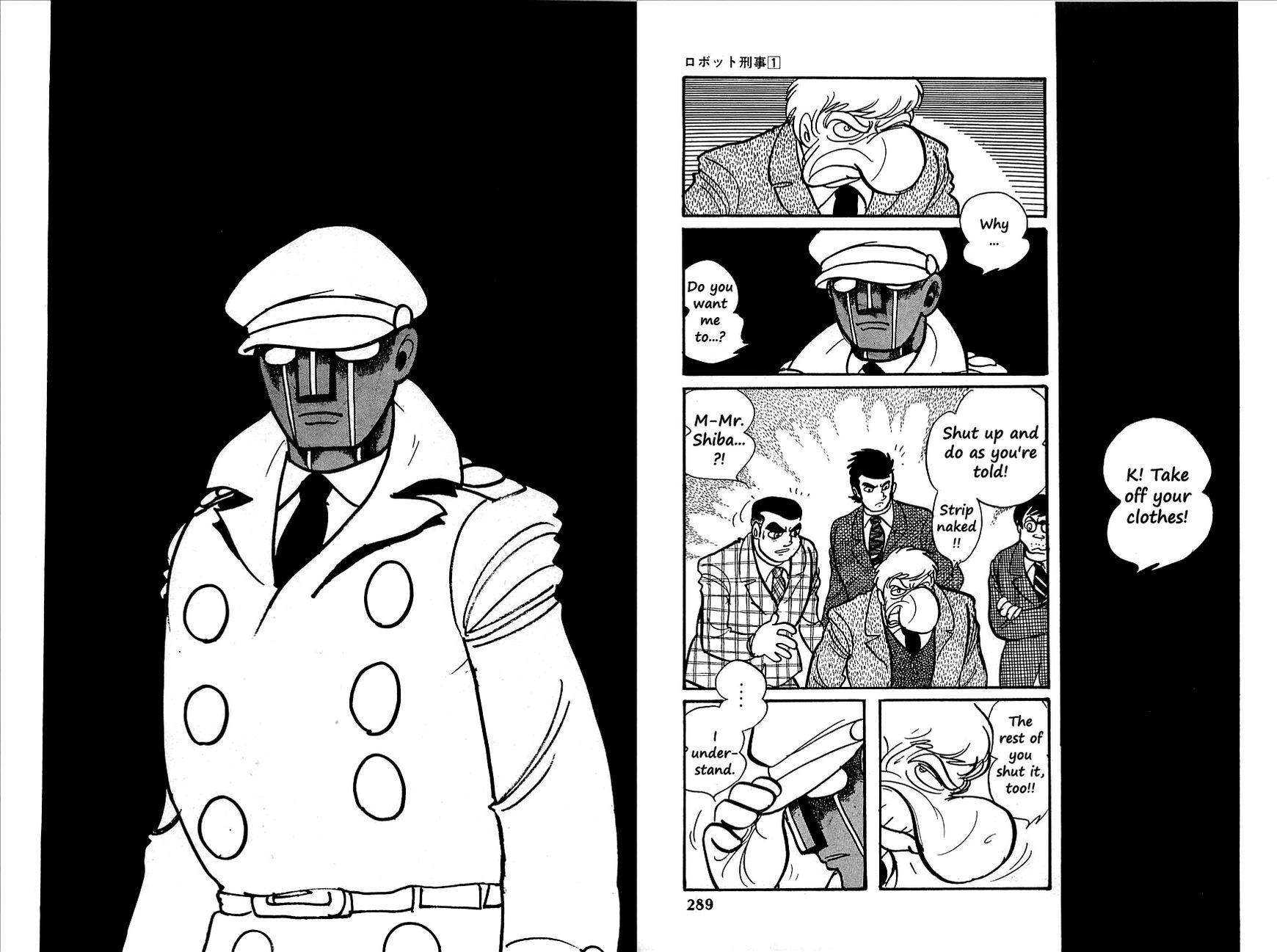 Robot Keiji 12 Page 2