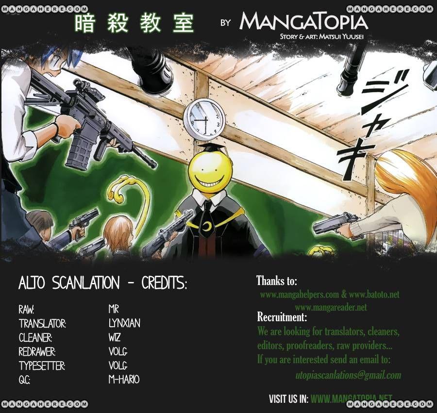 Ansatsu Kyoushitsu 31 Page 1