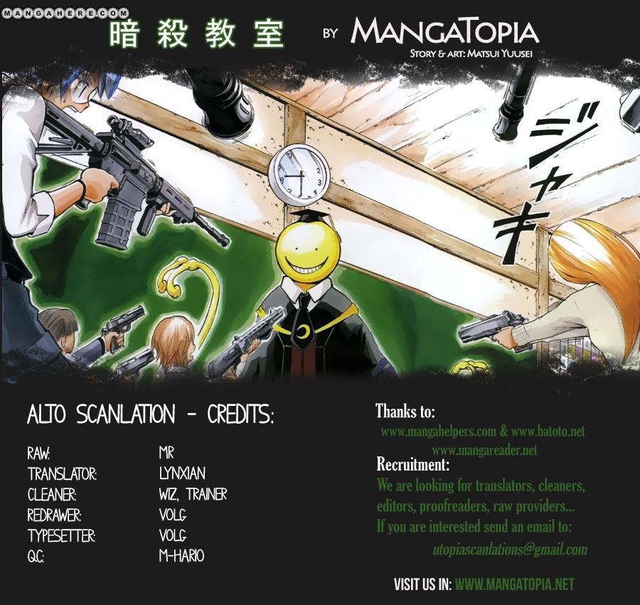 Ansatsu Kyoushitsu 33 Page 1