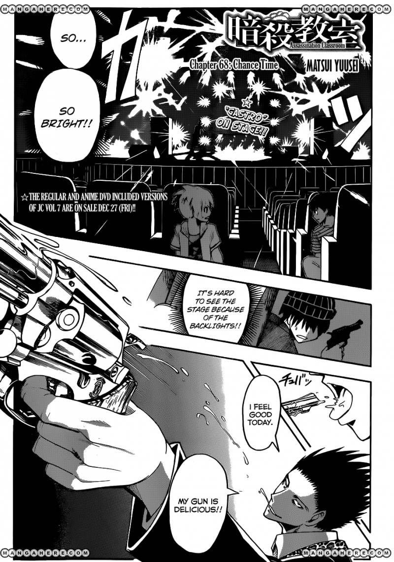Ansatsu Kyoushitsu 68 Page 2