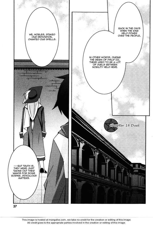 Zero no Tsukaima 18 Page 1