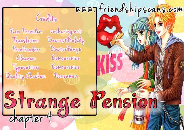 Strange Pension 4 Page 1