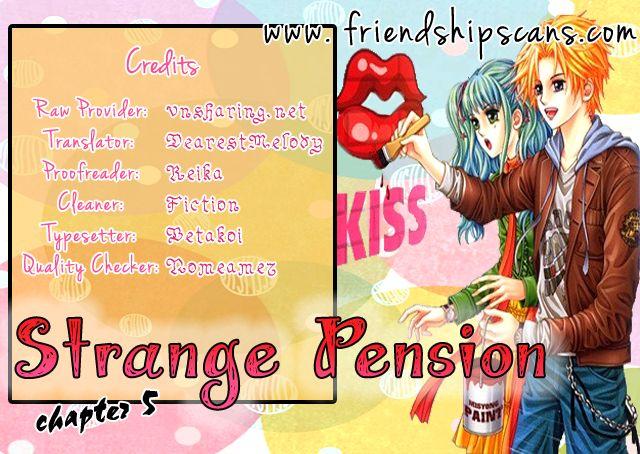 Strange Pension 5 Page 1