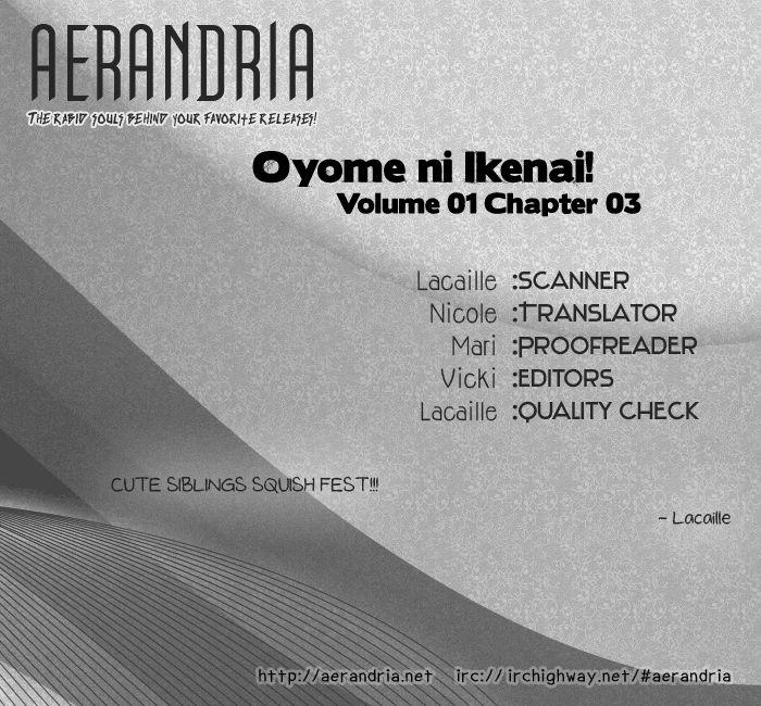 Oyome ni Ikenai! 3 Page 2