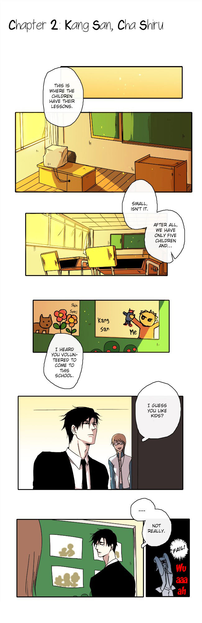 The Children's Teacher, Mr. Kwon 2 Page 2