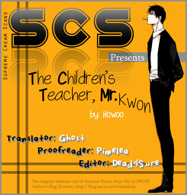 The Children's Teacher, Mr. Kwon 5 Page 1