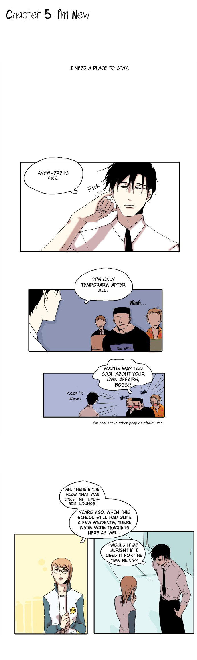 The Children's Teacher, Mr. Kwon 5 Page 2