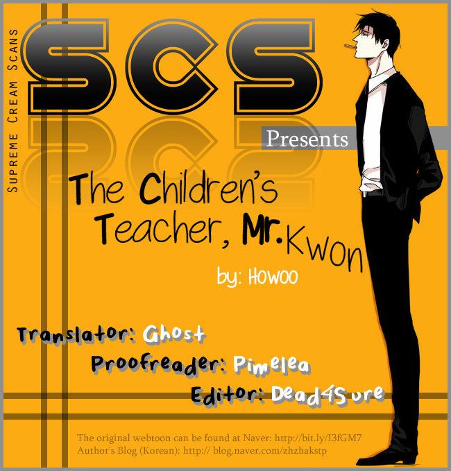 The Children's Teacher, Mr. Kwon 7 Page 1