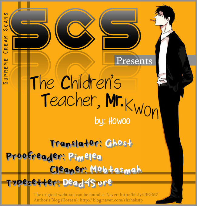 The Children's Teacher, Mr. Kwon 12 Page 1