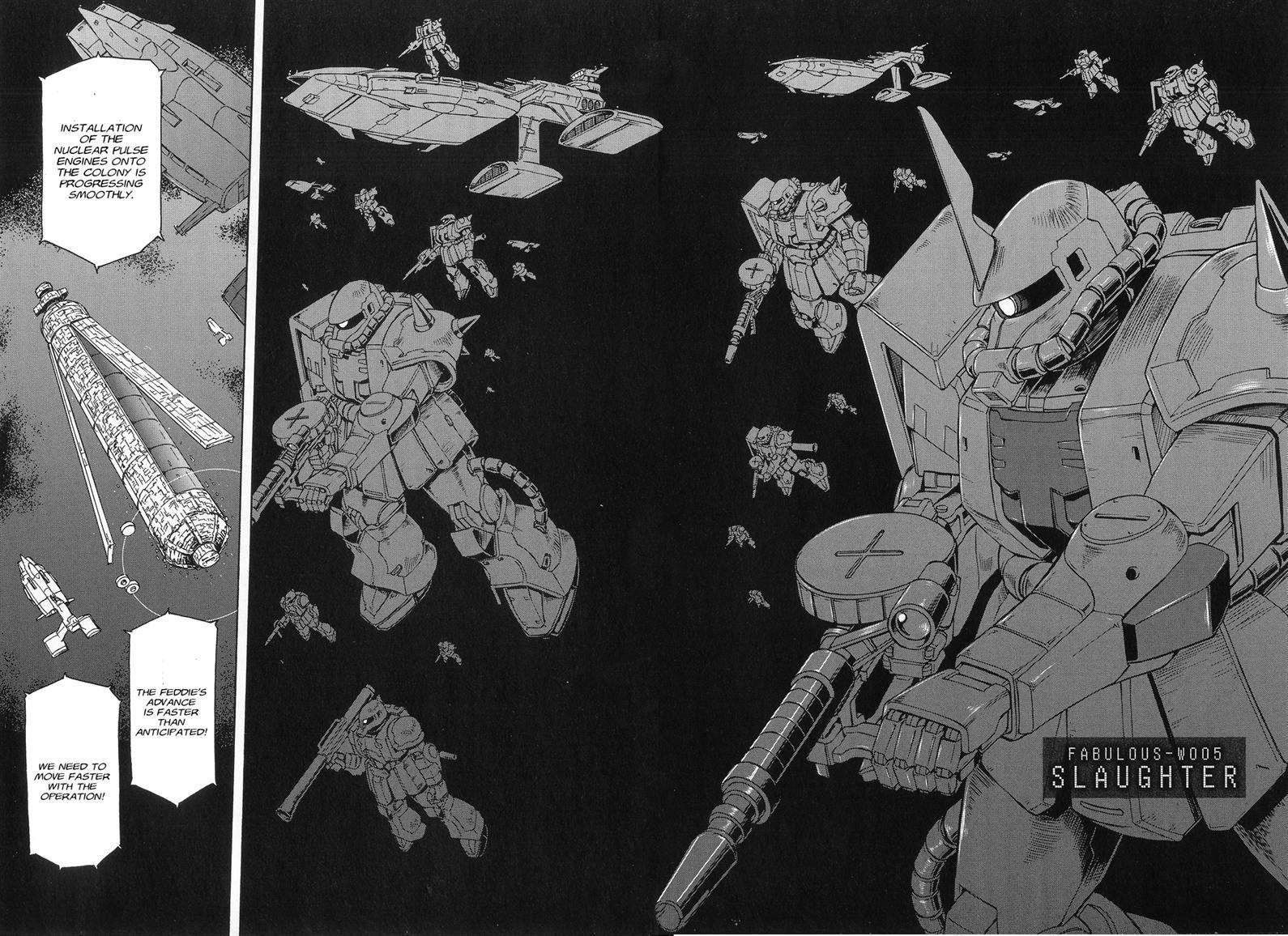 Uchuu Seiki Eiyuu Densetsu - Mobile Suit Gundam MSV-R 5 Page 2