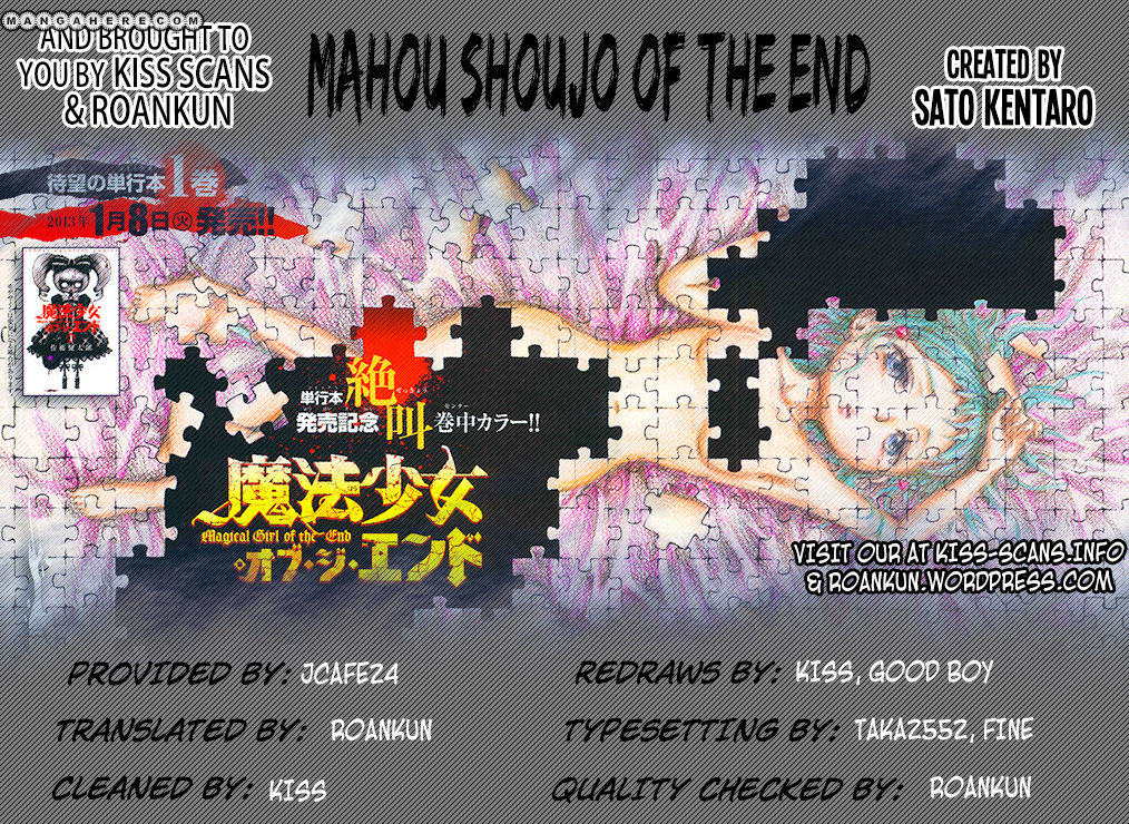 Mahou Shoujo of the End 7 Page 1