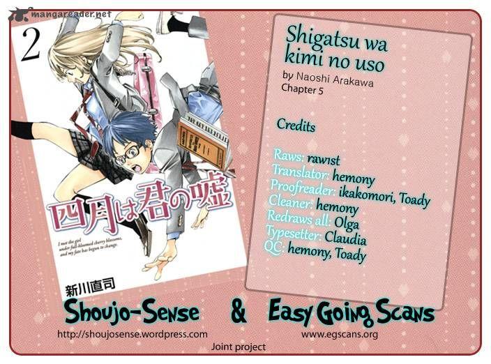 Shigatsu wa Kimi no Uso 5 Page 3