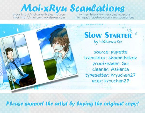 Slow Starter (ICHIKAWA Kei) 6 Page 3