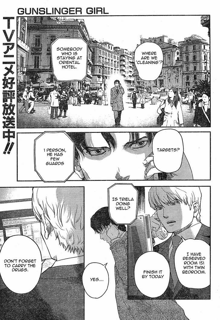 Gunslinger Girl 52 Page 1