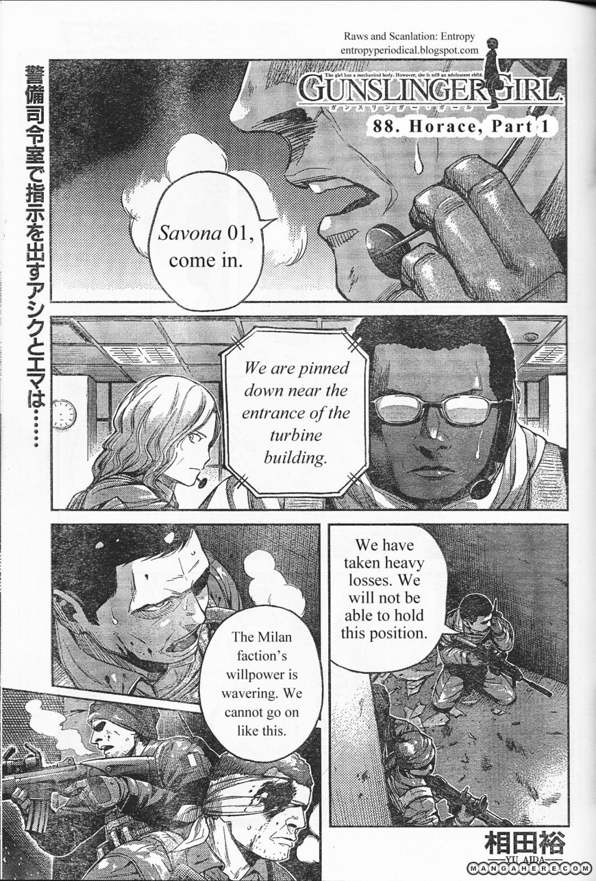 Gunslinger Girl 88 Page 1
